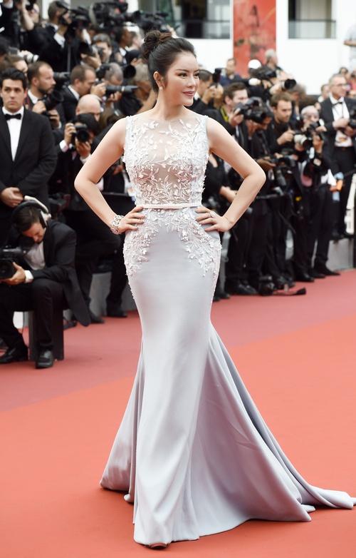 Lý Nhã Kỳ diện cây hàng hiệu hơn 4 tỷ lộng lẫy trên thảm đỏ LHP Cannes - Ảnh 9.