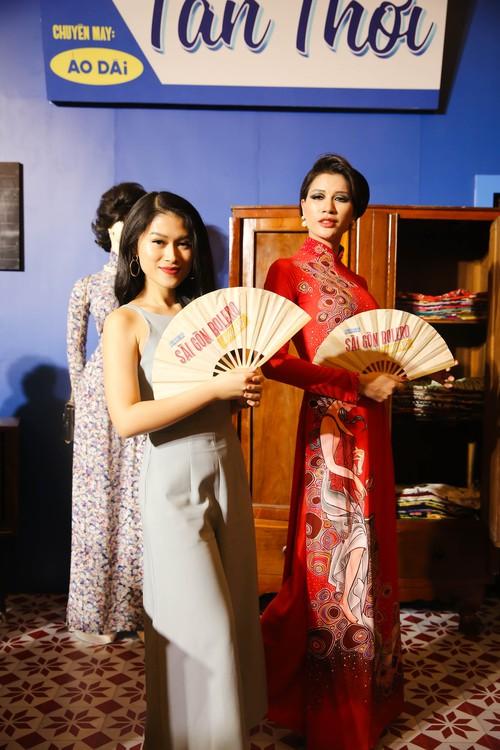 Dàn sao Việt diện trang phục cổ điển đi xem đêm nhạc Bolero của Đàm Vĩnh Hưng - Ảnh 4.