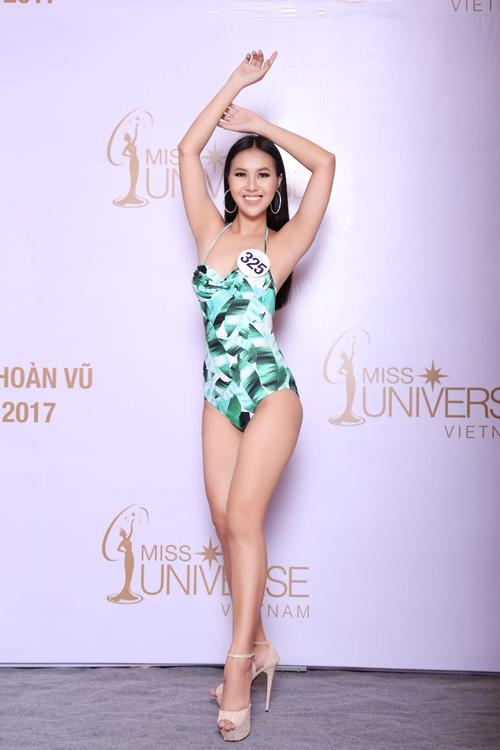 Cận cảnh hình ảnh bikini của Hoàng Thùy, Mâu Thủy, Mai Ngô... tại Hoa hậu Hoàn vũ, ai nuột nhất? - Ảnh 18.