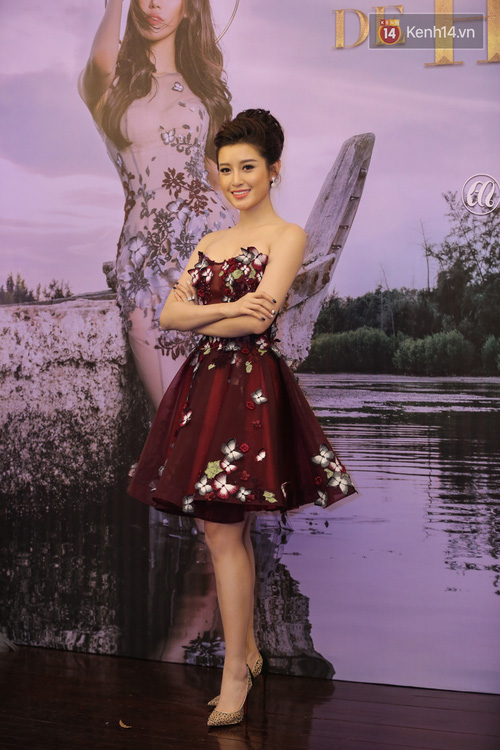 Hoa hậu Mỹ Linh đẹp dịu dàng, Tú Anh dừ bất ngờ, Mai Phương Thúy tái xuất trên thảm đỏ show Hoàng Hải - Ảnh 7.