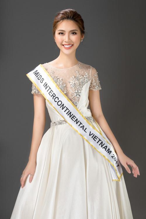 The Face vừa kết thúc, Tường Linh tiếp tục chinh chiến tại đấu trường Miss Intercontinental 2017 - Ảnh 1.