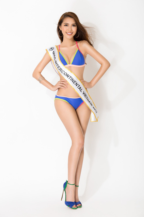 The Face vừa kết thúc, Tường Linh tiếp tục chinh chiến tại đấu trường Miss Intercontinental 2017 - Ảnh 6.