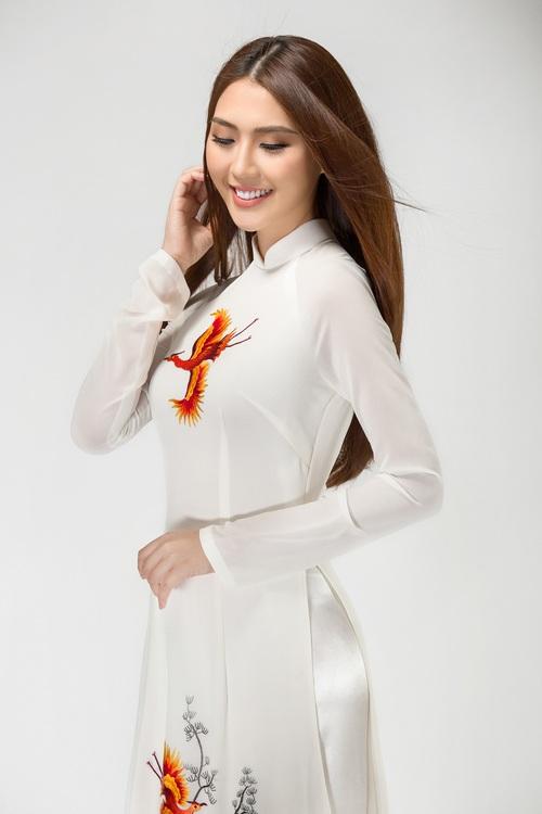 The Face vừa kết thúc, Tường Linh tiếp tục chinh chiến tại đấu trường Miss Intercontinental 2017 - Ảnh 3.