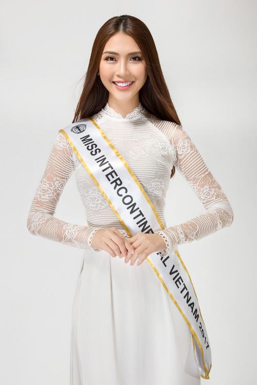 The Face vừa kết thúc, Tường Linh tiếp tục chinh chiến tại đấu trường Miss Intercontinental 2017 - Ảnh 2.