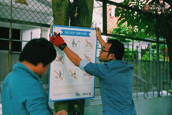 Những người sáng tạo sân chơi miễn phí cho trẻ em giữa lòng Hà Nội - Ảnh 12.