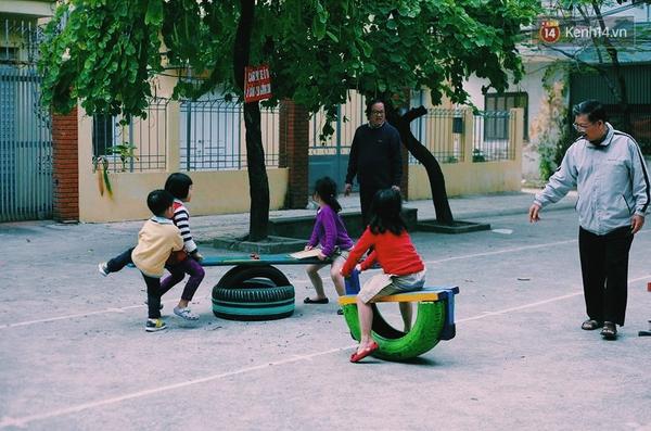 Những người sáng tạo sân chơi miễn phí cho trẻ em giữa lòng Hà Nội - Ảnh 3.