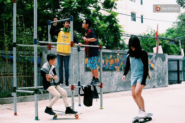 Những người sáng tạo sân chơi miễn phí cho trẻ em giữa lòng Hà Nội - Ảnh 6.