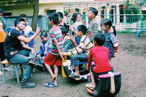 Những người sáng tạo sân chơi miễn phí cho trẻ em giữa lòng Hà Nội - Ảnh 8.