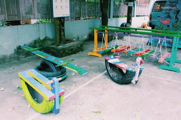 Những người sáng tạo sân chơi miễn phí cho trẻ em giữa lòng Hà Nội - Ảnh 13.