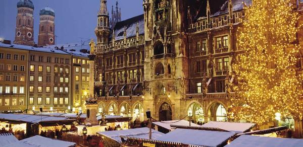 Những khu chợ Giáng sinh lộng lẫy cho du học sinh ở châu Âu - Ảnh 8.