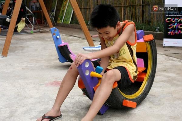 Những người sáng tạo sân chơi miễn phí cho trẻ em giữa lòng Hà Nội - Ảnh 5.