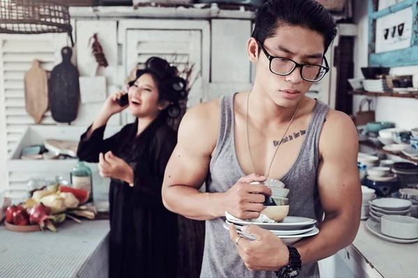 Cười lăn với bộ ảnh cưới phong cách Em là mụ nội của cặp đôi Sài Gòn - Ảnh 2.