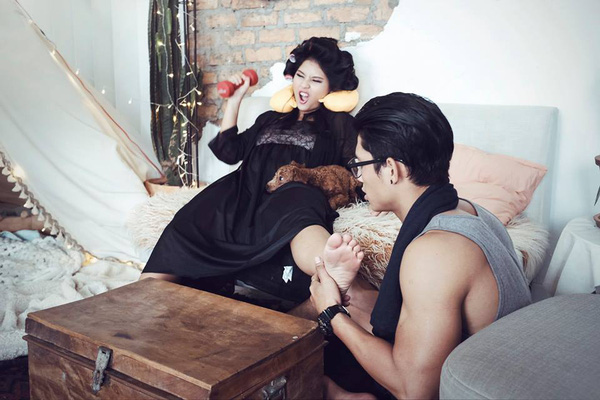 Cười lăn với bộ ảnh cưới phong cách Em là mụ nội của cặp đôi Sài Gòn - Ảnh 9.