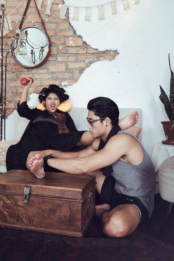 Cười lăn với bộ ảnh cưới phong cách Em là mụ nội của cặp đôi Sài Gòn - Ảnh 10.