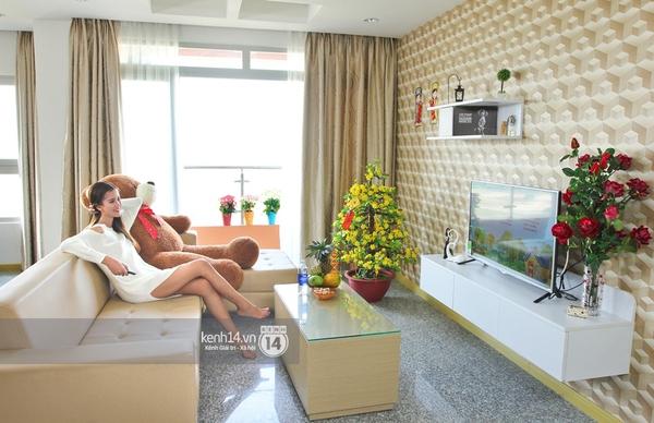 Hương Ly khoe căn hộ mới - giải thưởng cho Quán quân Next Top Model - Ảnh 2.