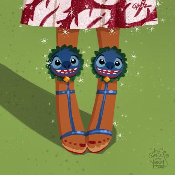 Bộ sưu tập giày hàng hiệu của các nàng công chúa Disney - Ảnh 16.