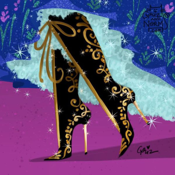 Bộ sưu tập giày hàng hiệu của các nàng công chúa Disney - Ảnh 7.