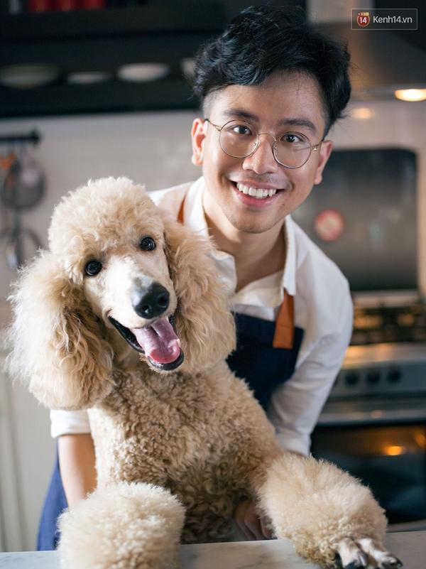 Dino Vũ: Đẹp trai, nấu ăn ngon, yêu chó, mặc đẹp - Soái ca đây rồi! - Ảnh 11.