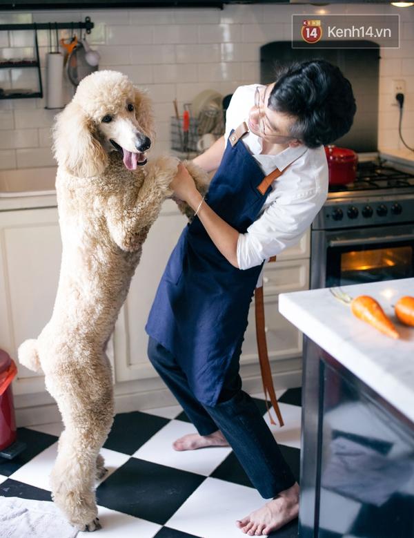 Dino Vũ: Đẹp trai, nấu ăn ngon, yêu chó, mặc đẹp - Soái ca đây rồi! - Ảnh 12.