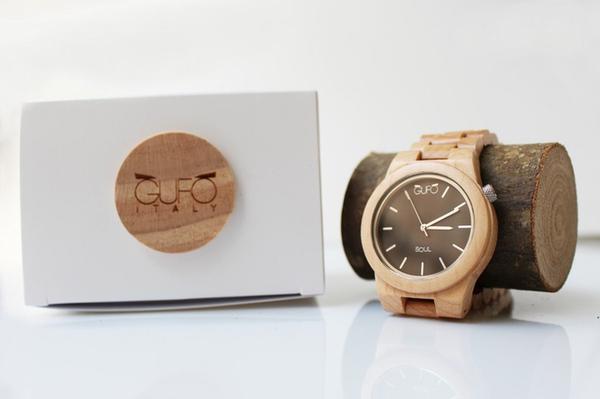 Bộ sưu tập đồng hồ gỗ tự nhiên thân thiện với môi trường - Ảnh 2.