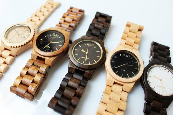 Bộ sưu tập đồng hồ gỗ tự nhiên thân thiện với môi trường - Ảnh 3.