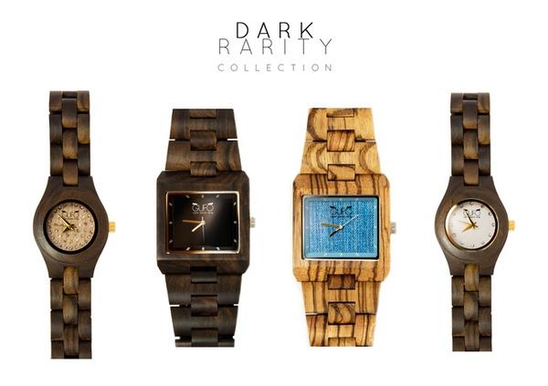 Bộ sưu tập đồng hồ gỗ tự nhiên thân thiện với môi trường - Ảnh 4.