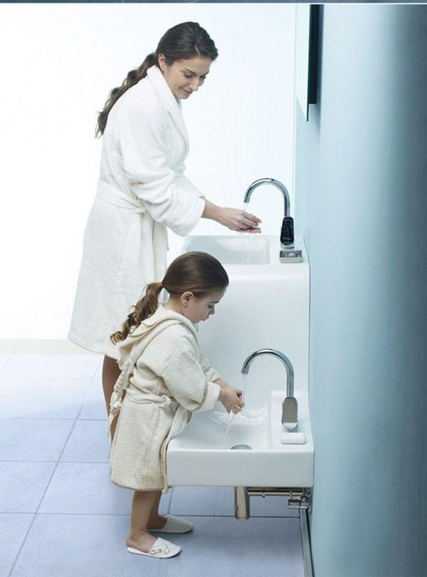 14 bồn rửa ấn tượng khiến bạn muốn nghịch nước suốt ngày - Ảnh 5.
