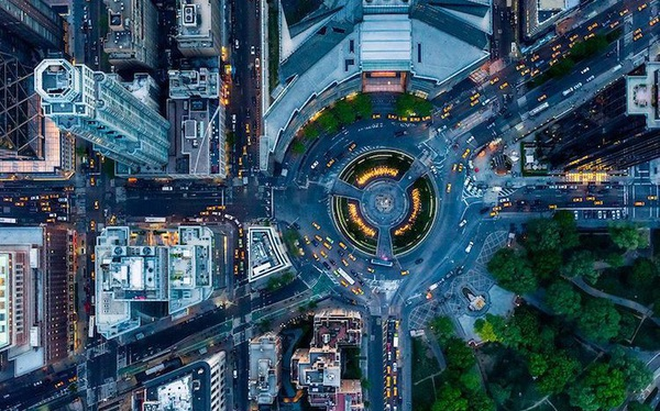Mãn nhãn với 18 khung cảnh tráng lệ từ góc nhìn trên cao ở thành phố