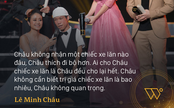 """Họa sĩ khuyết tật Lê Minh Châu trong đêm Gala WeChoice: """"Mình như đang bước trên thảm đỏ Oscar vậy"""""""