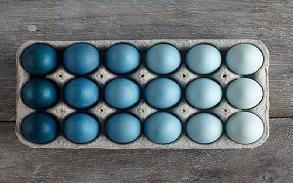 Thử tìm 7 màu xanh khác biệt để xem mình có bị mù màu không