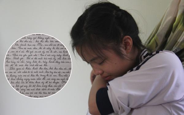 Xúc động bức thư gửi người mẹ đã mất của nữ sinh lớp 9 ở Nghệ An