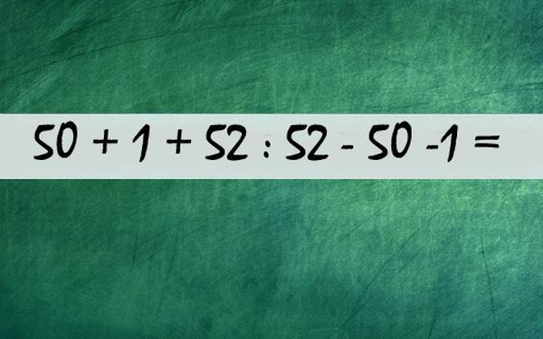 3 bài toán tiểu học dễ ợt nhưng 95% sinh viên đều giải sai