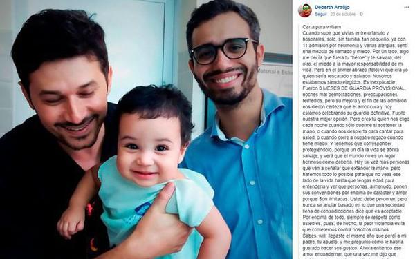 """Nghẹn ngào lá thư ông bố đồng tính gửi con nuôi: """"Cảm ơn con vì đã dạy ta cách làm một người bố như thế nào"""""""