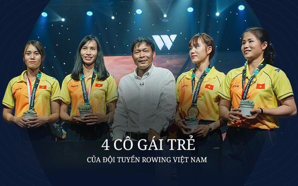 4 cô gái trẻ của đội tuyển Rowing Việt Nam: Những bông sen đá chiến đấu trong âm thầm
