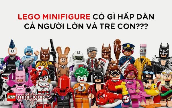LEGO Minifigures có gì hấp dẫn mà khiến cả trẻ con và người lớn đều săn đón