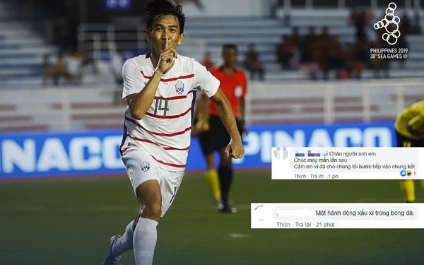 Fan đua nhau vào trang cá nhân của cầu thủ gốc Việt của Campuchia để
