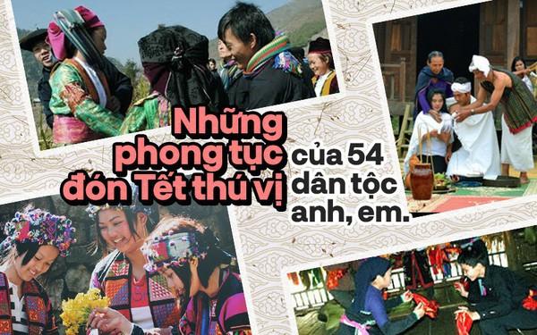 5 phong tục tập quán đón Tết thú vị của đồng bào 54 dân tộc anh em