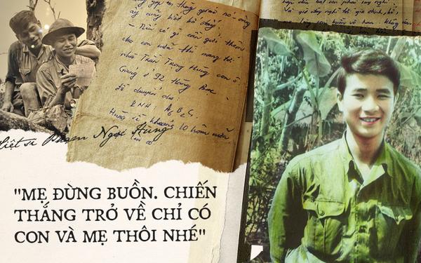 """Tình mẫu tử qua 60 bức thư của chàng lính trẻ hy sinh ở tuổi 20: """"Ngày chiến thắng trở về, con sẽ sống với mẹ đến trọn đời"""""""
