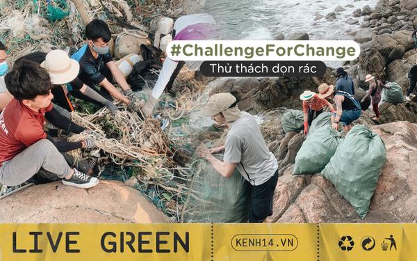 #ChallengeForChange chứng minh sức sống bền bỉ của mình: 2 tháng, 10 lần dọn vệ sinh và 700 bao rác được thu gom ở Sơn Trà