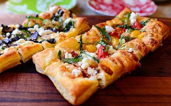 Ý tưởng dùng vỏ pastry LÀM PIZZA: Lạ lẫm và hấp dẫn