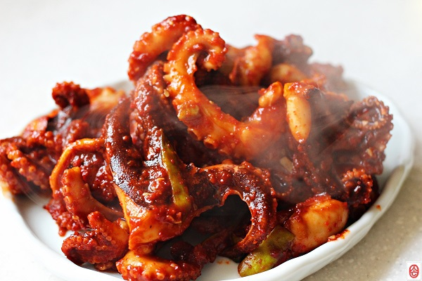 Stir-fried octopus-00a47