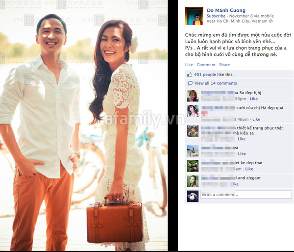 Tăng Thanh Hà mặc váy cưới trăm triệu 8