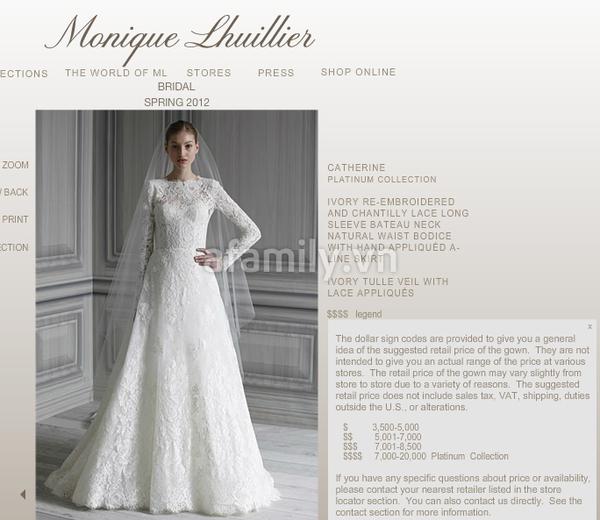 Tăng Thanh Hà mặc váy cưới trăm triệu 7