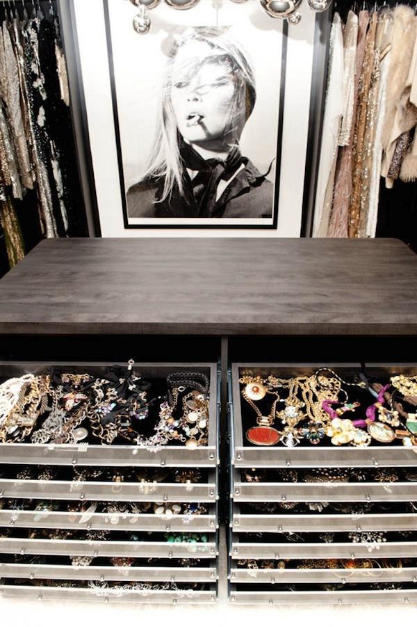 Ngó nghiêng tủ đồ của các fashionista thế giới 33