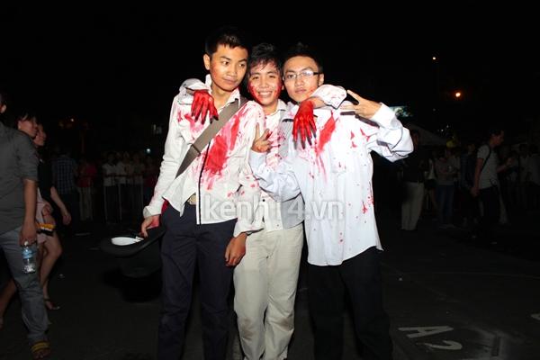 """Teen Sài Gòn """"nóng hừng hực"""" với Halloween 12"""