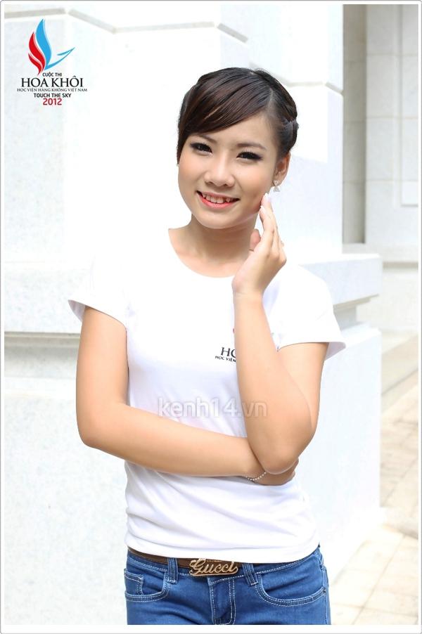13 nữ sinh xinh xắn của HV Hàng không tranh tài Miss VAA 3