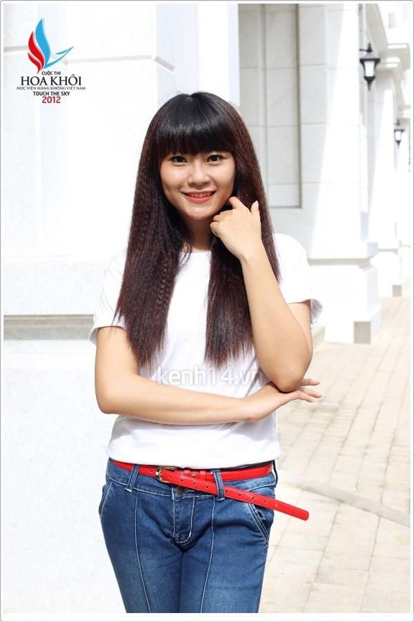 13 nữ sinh xinh xắn của HV Hàng không tranh tài Miss VAA 6