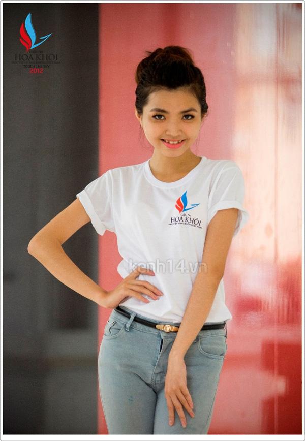 13 nữ sinh xinh xắn của HV Hàng không tranh tài Miss VAA 8