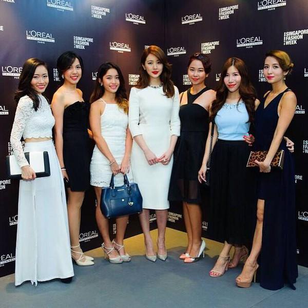 Yoon Eun Hye Xinh P R Ng Ng I T I Singapore Fashion Week