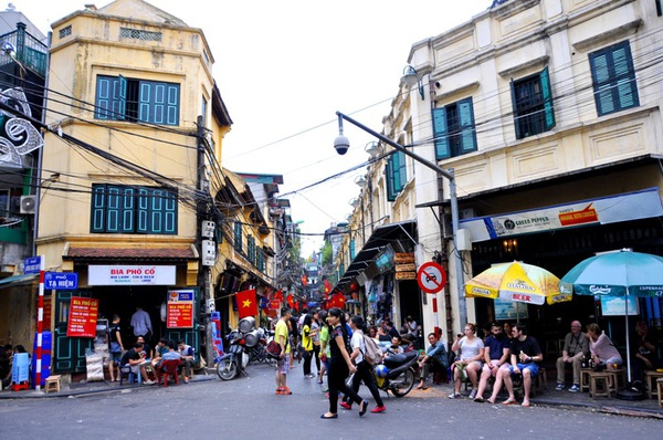 Kết quả hình ảnh cho phố cổ Hà Nội